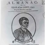 Frontispiece of Banneker's Almanac, 1795. This engraving is the only reliable likeness of the illustrious African American extant.
