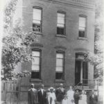 Mount Zion Parsonage at 2902 O Street, 1916, built 1897