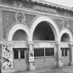 Blue Mouse Theatre, also called Mott Theatre, c. 1850.