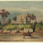 Bank of Columbia sketch, created by Augustus, Kollner, 1830.