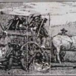 Contrabands coming into camp in consequence of the proclamation, drawn by Mr. A.R. Waud, Illus. in: Harper's weekly, v. 7 (1863 Jan. 31).