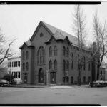 First Baptist Church, built 1882, Historic American Buildings Survey.