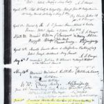 Charles Smackum and Mary Agnes Marshall's marriage certificate dated 1868 and listing them as Colored.